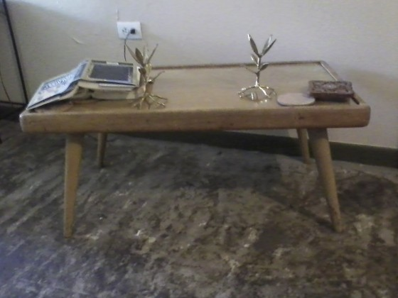 This coffee table is for sale. I want at least $25 for this one.